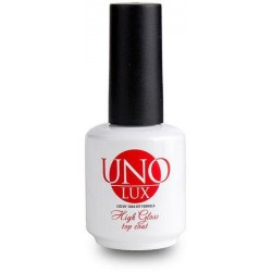 Uno Lux, Верхнее покрытие High Gloss Top Coat 15мл