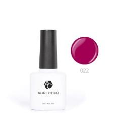 Цветной гель-лак ADRICOCO №022 темно-малиновый (8 мл.)