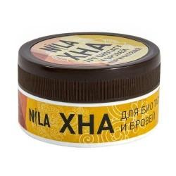 Хна для бровей NILA коричневая 20гр