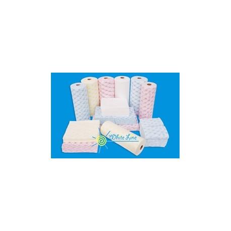Салфетки 30*40  цветные100шт рулон