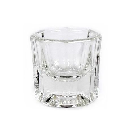 Стеклянный граненый стаканчик