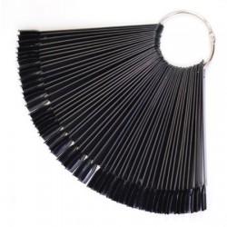 Палитра-веер 50 цветов (черная)