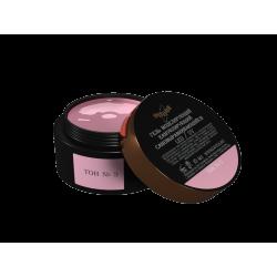 Гели моделирующие Камуфлирующий самовыравнивающийся гель светло-розовый (холодный) Тон №3 15мл