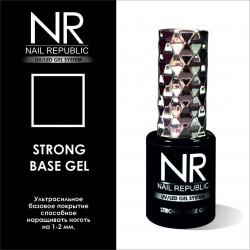 Ультрасильное базовое покрытие для гель-лака Nail Republic Strong Base Gel (10 мл.)