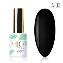 Гель-лак MIO Nails A-02 Черная жемчужина
