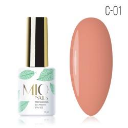 Гель-лак MIO Nails C-01 Персиковый маффин