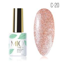 Гель-лак MIO Nails C-20 Персиковый нектар
