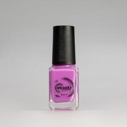 Swanky Stamping, Лак для стемпинга S16 - Неоново-розовый (6 мл)