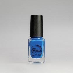 Swanky Stamping, Лак для стемпинга S14 - Неоново-синий (6 мл)
