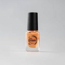 Swanky Stamping, Лак для стемпинга S44 - Сливочно-оранжевый (6 мл)