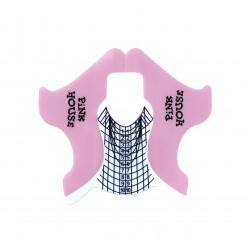 Формы пластиковые в сложении Pink House 100 шт
