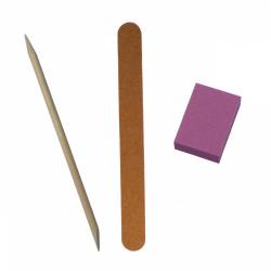 Кристалл Nails, Одноразовый набор маникюриста №1