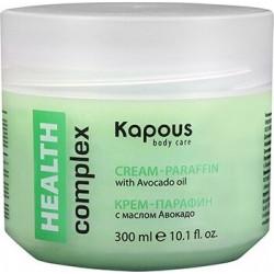 Крем-парафин Kapous Detox complex с маслами семян клюквы и брусники (300 мл)