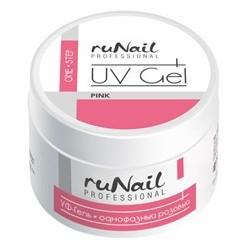 Гель для наращивания RuNail Pink 15г